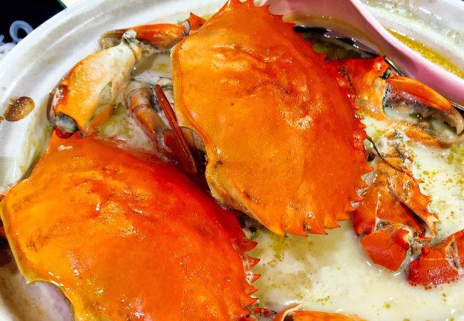 龍海鮮螃蟹王 メルベン シーフード