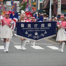 警視庁音楽隊カラーガード(MEC)