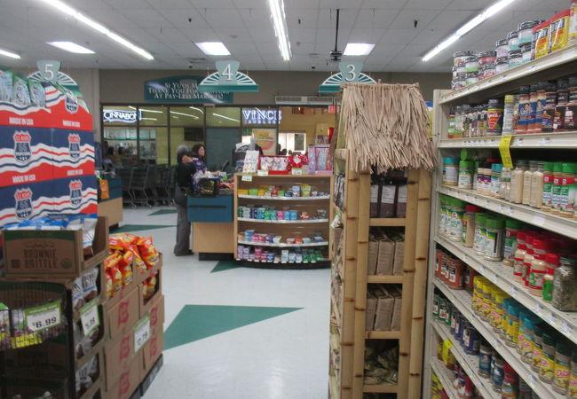 ペイレス スーパーマーケット (アガニア店)のレジ