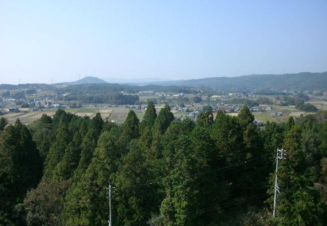 農村景観日本一展望所