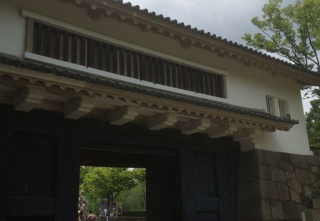 大阪城青屋門