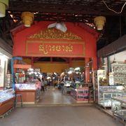シェリムアップで一番大きなマーケット