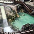 草津温泉のシンボル