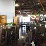イグアス国立公園内のレストランです