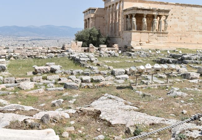 アテナ古神殿とアテナ プロマコスの像 クチコミ・アクセス・営業時間 ...