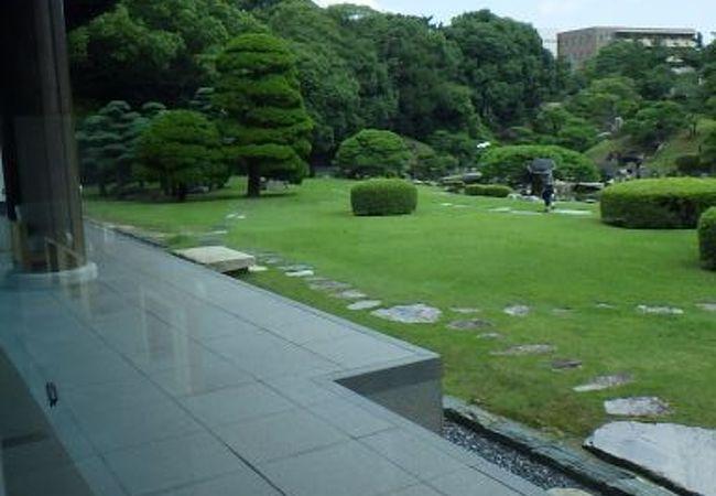 徳島城内の庭園