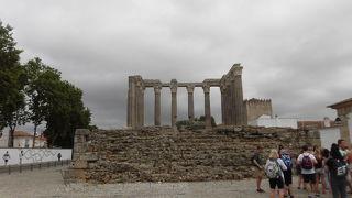 ローマ時代の拠点都市の証