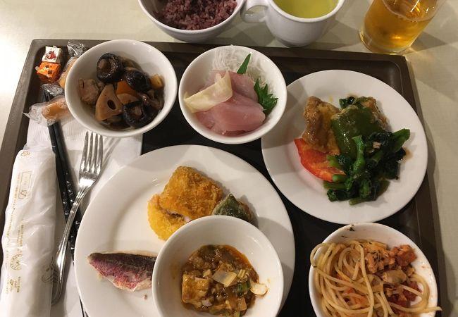 ホテルミヤヒラ内のレストラン