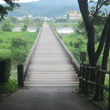 反対側の入口の様子