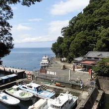 竹生島フェリー乗り場