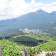 車山高原から見えました!
