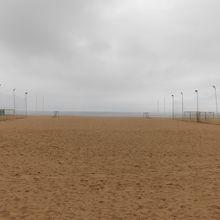 砂浜が大きい