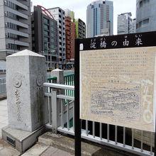 神田川に架かる青梅街道の橋