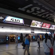 BTSシーロム線とスクンビット線の乗換駅