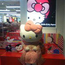 TOKIO 333内のハローキティのコーナー
