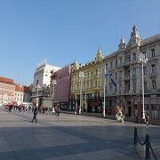 ザグレブの中心地です。
