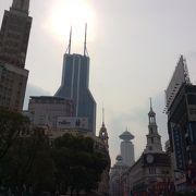 上海の歩行者天国