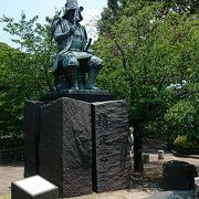 熊本城の入り口にある像