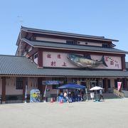 日本初鮭博物館