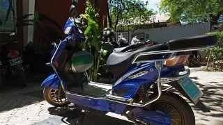 バガン遺跡お観光をするならEバイクレンタルがお勧め。Anawyahtar通り沿いのMyinto Mo