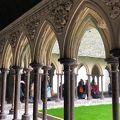 写真:モンサンミッシェル修道院 回廊
