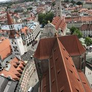 302段の木の階段を登り老ペーターからミュンヘン市内を一望してみよう