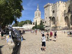 法王庁広場