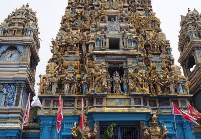 キャプテンズガーデン ヒンドゥー寺院