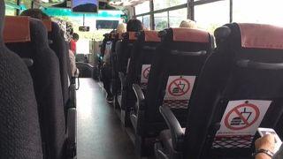 アルペンルート唯一の屋外バス