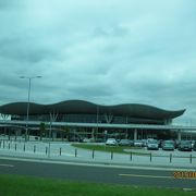 コンパクトな空港