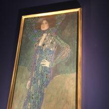 エミーリアフリーゲの肖像画