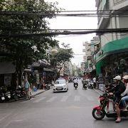 旧市街の通りです