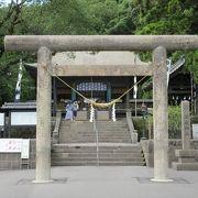 島津家を奉る神社