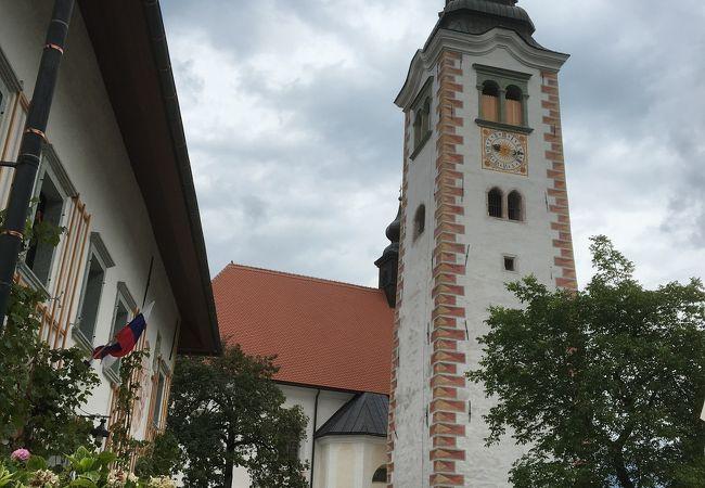 教会は小ぶり