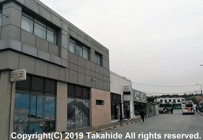 ハルキディキ バスステーション