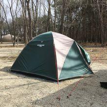 大自然の広がる静かなキャンプサイト