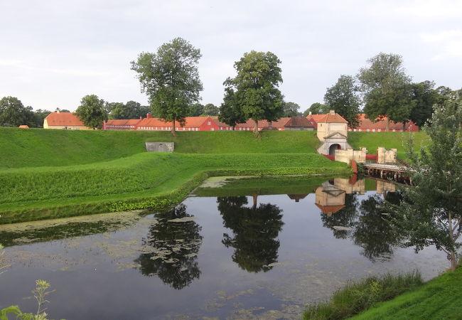 コペンハーゲンを守る星形の要塞