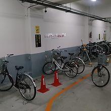 自転車は、ちょっと離れた市営駐輪場に停めてあります。