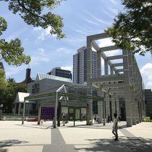 コレクション展の撮影は不可のため、外観の写真です。愛知県出身