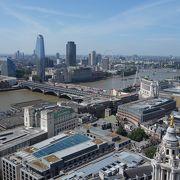 ロンドンを二分する川。北岸が中心。ウエストミンスターもシティも北岸にある。
