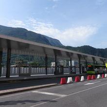 ボルツァーノのバスターミナル