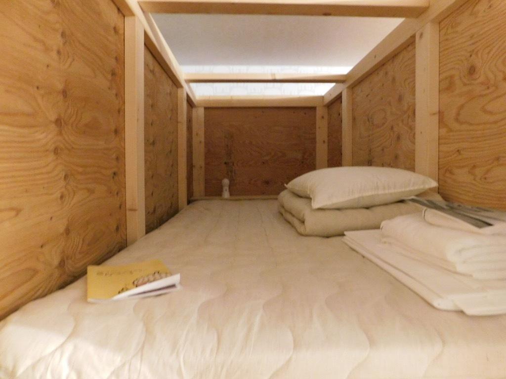 木材が新鮮だけど室内が暑い