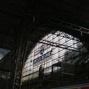 大きい駅です