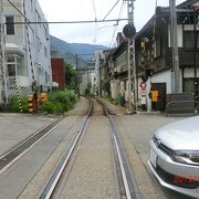 宇奈月温泉駅と立山駅でみました