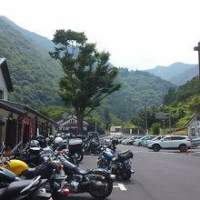道の駅上野駐車場