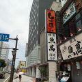 秋田駅前。西武百貨店むかえです。