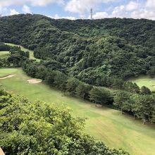 逗子の丘陵ゴルフ場