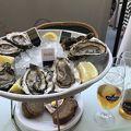 牡蠣を食べに行きました