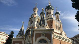 サン ニコラ ロシア正教会大聖堂