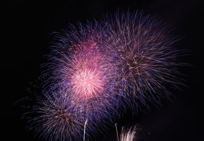 音と光のファンタジー花火 in KAGURA